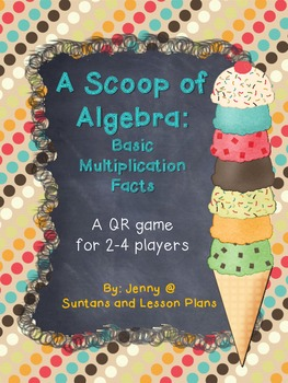 A Scoop of Algebra: Basic Multiplication Facts