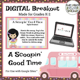 Digital Breakout/Escape Room - A Scoopin' Good Time - FREEBIE