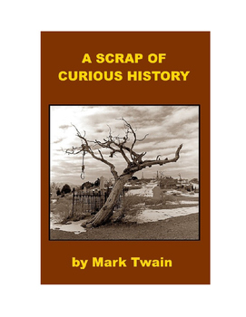 A Scrap of Curious History - Mark Twain