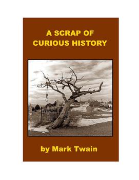 A Scrap of Curious History - Mark Twain