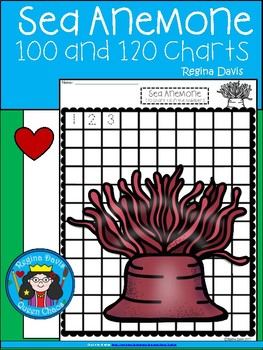 A+ Sea Anemone: Numbers 100 and 120 Chart