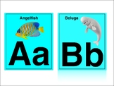Beach Sea Life Alphabet