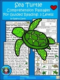 A+ Sea Turtle.... Comprehension: Differentiated Instruction For Guided Reading