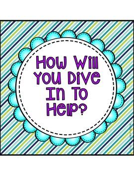A Sea of Helpers - Ocean Classroom Job Cards