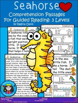 A+ Seahorse.... Comprehension: Differentiated Instruction For Guided Reading