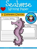A+ Seahorse ... Writing Paper