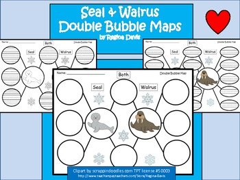 A+ Seal & Walrus:  Double Bubble Maps