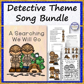 A Searching We Will Go Song Bundle