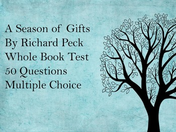 A Season of Gifts Test