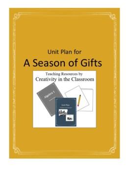 A Season of Gifts Novel Unit Plus Grammar