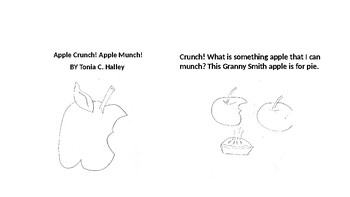 A Season of Stories Series 1 Book One : Apple Crunch Black and White