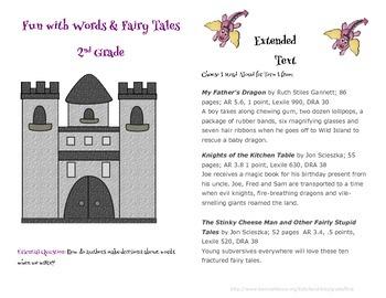 A Second Grade Fairy Tale Integrated Unit