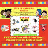 "SECRET STORIES® Phonics Posters w/Digraphs & R-controlled ""Secret"" Sampling"
