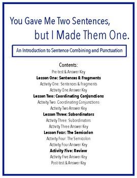 A Self-Instructional Module on Sentence Combining