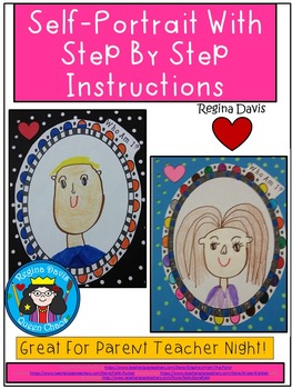 A+ Self Portrait...Step By Step Directed Drawing