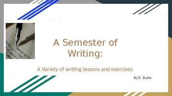A Semester Of Writing
