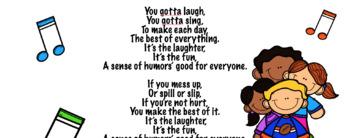 A Sense of Humor: Character Traits & Life Skills, SEL Songs