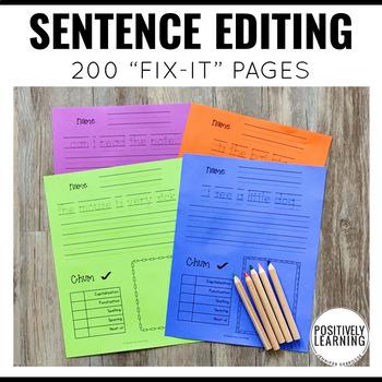 Sentence Writing Every Day
