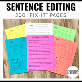 Sentence Editing Every Day