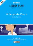 A Separate Peace Activities: Character Map, Major Themes,