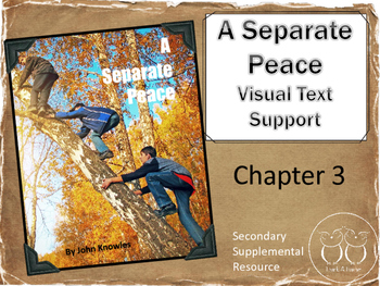 A Separate Peace :  Chapter 3 Visual Text Support