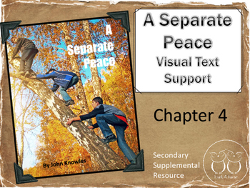 A Separate Peace :  Chapter 4 Visual Text Support