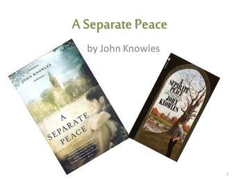 """A Separate Peace"" Discussion"