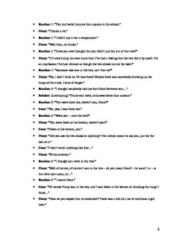 A Separate Peace- Gene's Trial- Chapter 11- Acting