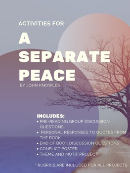 A Separate Peace Materials