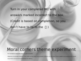A Separate Peace Moral Corners thematic debate activity
