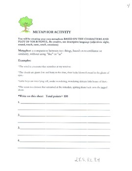 A Separate Peace Packet