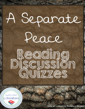 A Separate Peace Scored Discussions