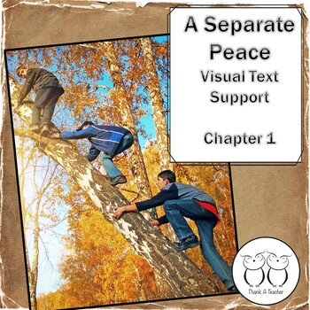 A Separate Peace :  Chapter 1 Visual Text Support
