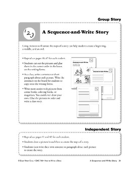 A Sequence-and-Write Story