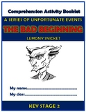Series of Unfortunate Events The Bad Beginning Comprehension Activities