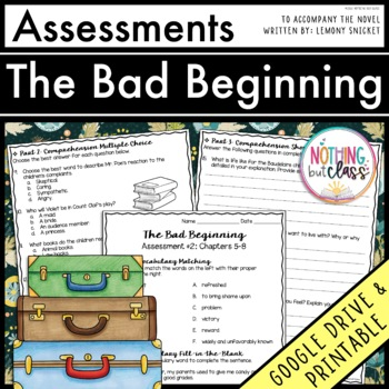 The Bad Beginning (A Series of Unfortunate Events): Tests,