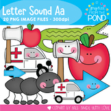 Letter A Set - Set of Clipart for Short Beginning Sound a