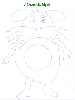 A Seuss-Like Glyph:  Perfect for Dr. Seuss Day or Any Other Day of the Year