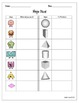 A+ Shape Attribute Chart Activities - Plane & Solid