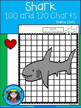 A+ Shark: Numbers 100 and 120 Chart