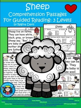 A+ Sheep Comprehension: Differentiated Instruction For Guided Reading