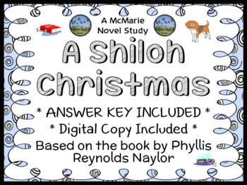 A Shiloh Christmas (Phyllis Reynolds Naylor) Novel Study / Comprehension (32 pg)