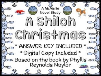 A Shiloh Christmas (Phyllis Reynolds Naylor) Novel Study / Comprehension (32 pg)