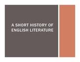 A Short History of English (Intro Lesson for AP English Li