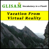 VOCABULARY IN A FLASH short story: Vacation From Virtual Reality