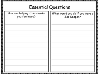 A Sick Day for Amos McGee ~ by Philip C. Stead  41 pgs Common Core Activities
