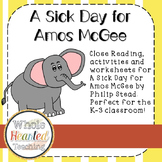 A Sick Day for Amos McGee Book Study