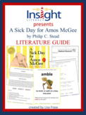 A Sick Day for Amos McGee Literature Guide