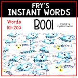 Instant Words a Sight Word Practice Game Set Two