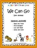 Zoo Animals - Sight Word Phrase Story